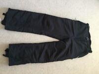 Ladies ski/snowboard trousers size M