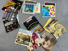 Record Collection- over 40 lps/ easy - instrumental- world