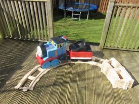 Thomas the Tank Engine ride on and track