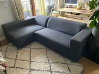 Grey corner sofa 4 seater