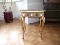 Antique Small French Ornate Table