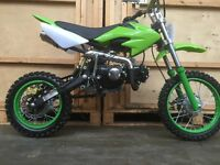 125cc Dirt Bike New 2016 Model MXB Great fun Fantastic Value