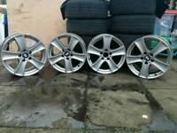 X5 x6 e60 e46 e53 3 5 series alloy wheels r18