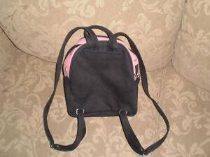 Pink & Black small backpack purse Kitchener / Waterloo Kitchener Area image 2