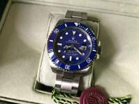 Swiss Rolex submariner Automatic Watch Blue