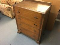 NICE VINTAGE SMALL CHEST OF FOUR DRAWERS