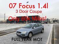 £1485 2007 Focus 1.4l* like fiesta corsa astra megane auris 308 a3 a4 polo golf