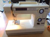 Vintage Sewing machine new home 340