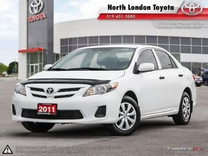 2011 Toyota Corolla CE BEING SOLD AS IS PRIOR TO SAFETY...NOT...
