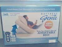 Mattress Genie .Turns any mattress into an Adjustable bed!