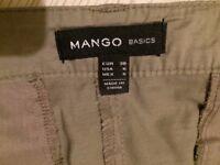 *BARGAIN* MANGO BASICS fabric skirt EUR 38 USA 6
