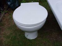 Toilet - Circular - Back to wall