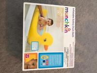 Baby inflatable safety bath. NEW