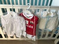 Brand new 3sets of baby boy outfit