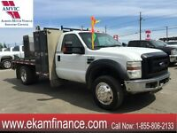2008 Ford F-450 XL Regular Cab 4X4 DUALLY V-10 WELDING TRUCK.