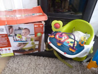 Mamas and papas bumbo booster seat and play tray