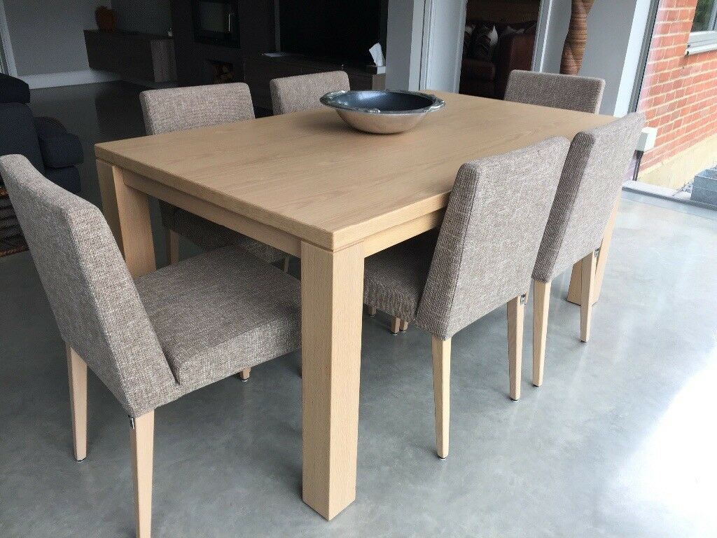 Awesome Dining Rooms From Hulsta: Hulsta Dining Room Table (6 Seater) And Sideboard