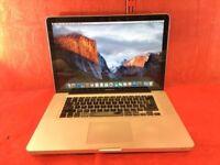 "Apple MacBook Pro A1286 15"" Core 2 Duo Processor, 4GB Ram, 500GB, 2009 +WARRANTY, NO OFFERS L377"
