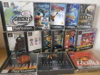 Various playstation ps1 games