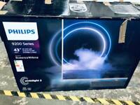 "Brand new smart tv nice design 43"" Phillips ambilight 4K"