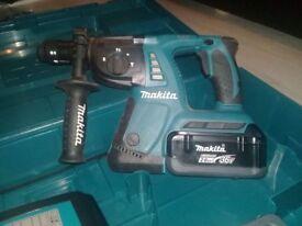 Makita cordless combination hammer