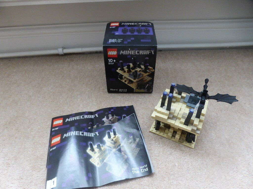 Lego Minecraft Micro World The End 21107 In Swindon Wiltshire Gumtree