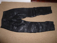 Belstaff Leather Motorbike Trousers 32L very good condition