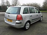 2008 VAUXHALL ZAFIRA LIFE SILVER,12 MONTHS MOT,77K MILES,HPI CLEAR,2 KEYS,P/X WELCOME ...