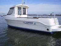 Arvor 2004 Nanni diesel engine 85 HP plotter fish depth finder VHF radio anchor winch many extras