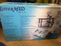 Brand New Litter Maid Mega Self Cleaning Litter Box