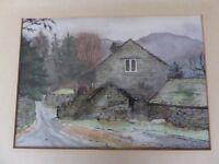 Original Lakeland watercolour painting