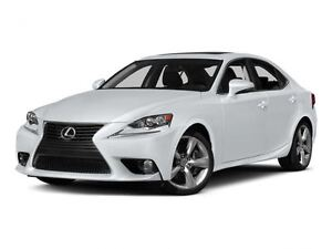 2015 Lexus IS 350 WHITE IMMACULATE LOCAL TRADE
