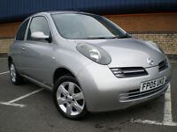 *** L@@K Nissan MICRA URBIS HATCHBACK 3 DOOR 1.2 ***GENUINE MILEAGE ONLY COVERD 87K ***