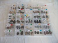 Collection of Stones & Crystals, in plastic boxes. 59 in total.