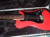 fender bullet guitar