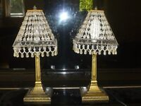 Delightful Glass ,Crystal Table Lamps