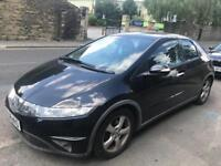 BARGAIN Honda Civic 2.2 diesel black 5dr