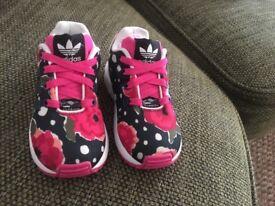 Infant girl adidas size 5.5