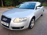 Audi A6 SALOON 3.0 TDI SE Quattro 4dr BLACK LEATHER Pack HPI CLEAR PX WELCOME