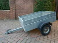 3ft by 4ft trailer