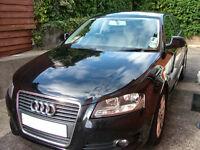 Audi A3 1.9tdi Sport 3 door black