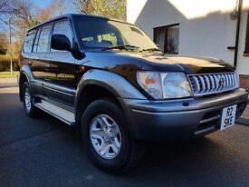 Toyota LAND CRUISER COLORADO 3.0 Turbo Diesel - Excellent Drive - 1 years mot - nearest offer