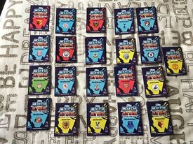 175 16/17 match attax trading cards