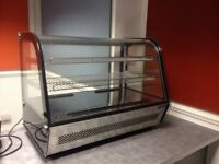 POLAR COUNTER TOP DISPLAY CHILLER (160L) IDEAL FOR SHOP/CAFE VERY GOOD CONDITION