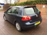 **2005 VOLKSWAGEN GOLF TDI 105 BHP 5 SPEED**