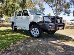 2011 Toyota Hilux SR (4x4) Dual Cab Utility West Mackay Mackay City Preview