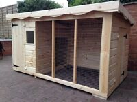 Dog kennel and run Extra large rrp £750 BRAND NEW UNUSED!