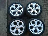 Focus ST 18 inch Alloys Transit Connect