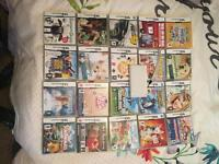 Nintendo DS Lite w/ 20 Games, Charger and Sleeve