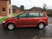 09 VOLKSWAGEN TOURAN 1.9 TDI S 7 SEATER P/EX WELCOME